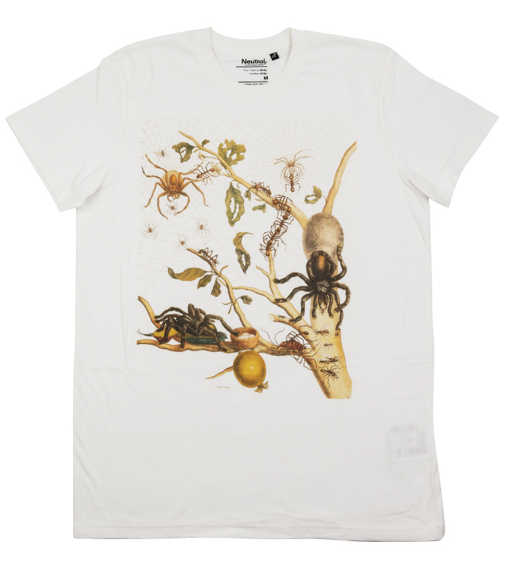 t-shirt with spiders