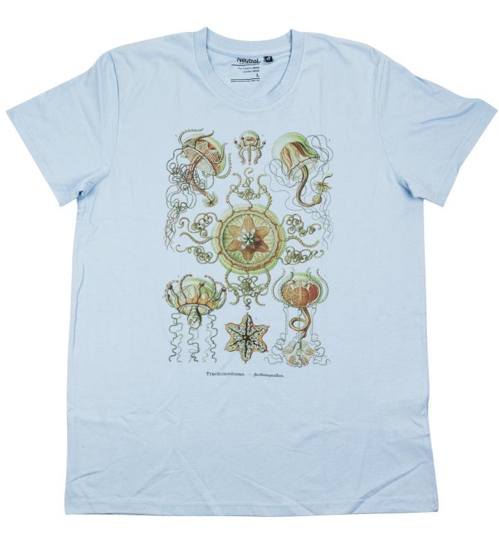 trachymedusae haeckel t-shirt