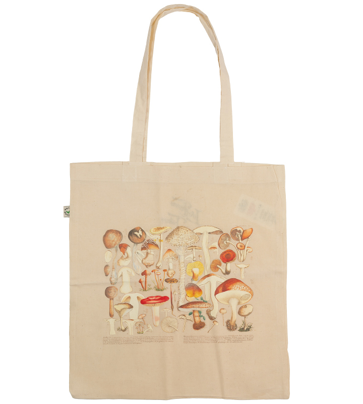 shopping bag cotton mushrooms